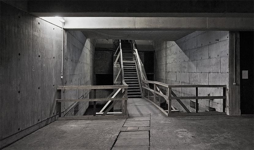 Zugang zur Geisterstation unter dem Hauptbahnhof in Hannover
