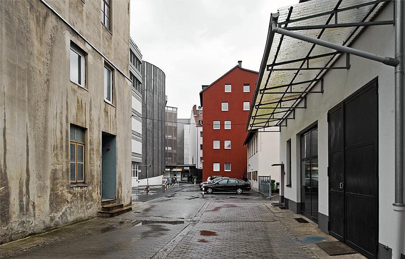 Rückseiten von Hannover Innenstadt
